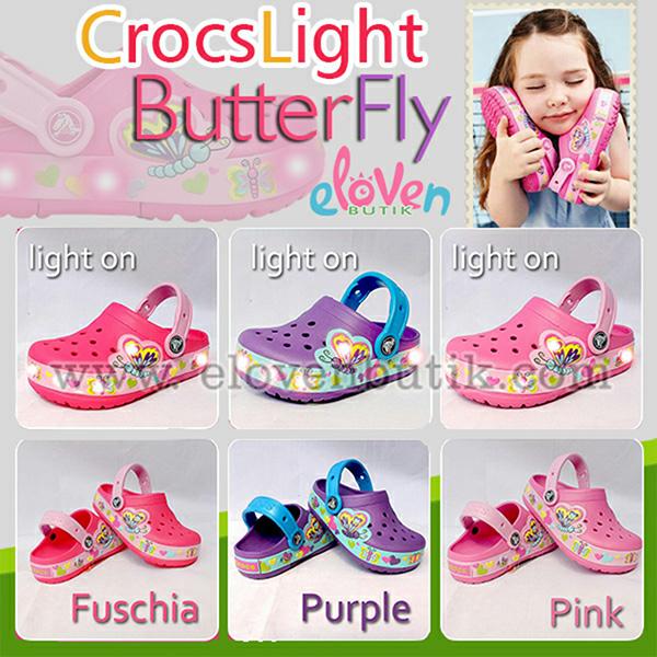 crocs CrocsLights Butterfly