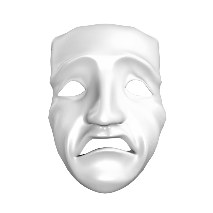 Displaying 16> Images For - Sad Masks...