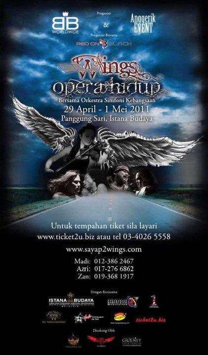 Event Wings Opera Hidup 2011