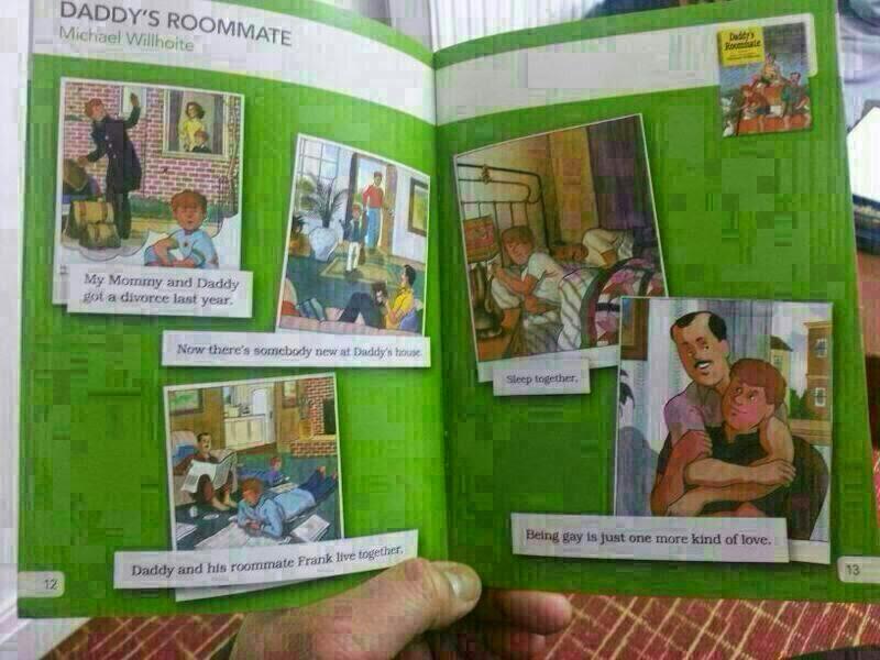 Buku Kanak -Kanak Versi Gay