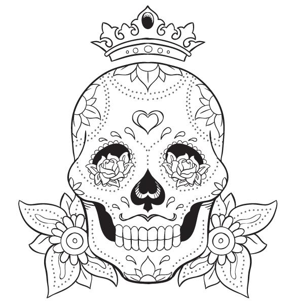 Blank Skull Template