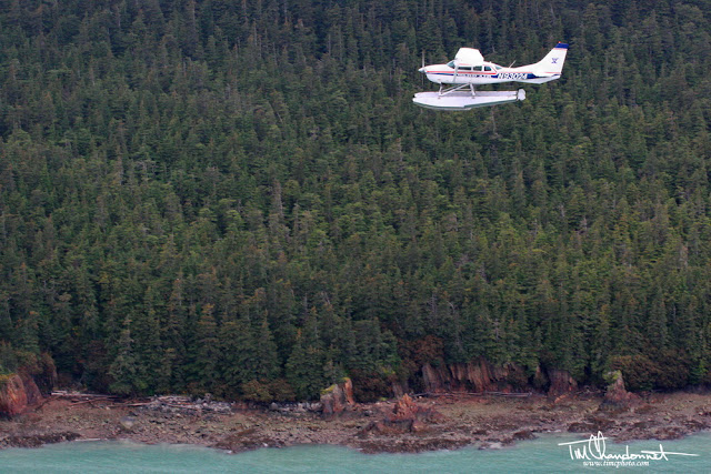 Tim Chandonnet Photography,Bellingham Washington Photographer, cessna, float plane, inflight, flying, Taku Inlet, Taku River, Southeast Alaska, capital city of Juneau, rugged coastline ,inside passage, Tongass National Forest, evergreen trees, Temperete Rainforest