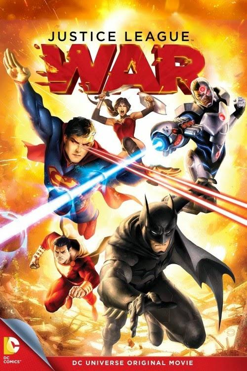 Phim Phiêu Lưu - Hành Động Liên Minh Công Lý: Chiến Tranh - Justice League: War - 2014