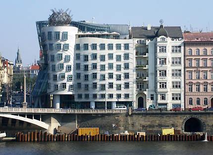 TFQ Architects Dancing Building Prague Czech Republic