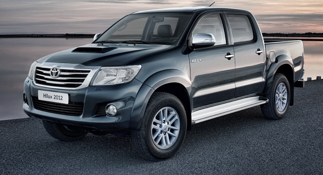 Toyota Has Blessed Its European Market Hilux Pickup Truck With A Mid Life Facelift For The 2017 Model Year Cosmetic Surgery Starts Exterior