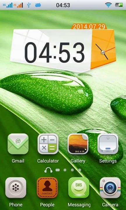 Install Custom ROM Kliton OS di Lenovo A316i Terbaru | Green Theme!