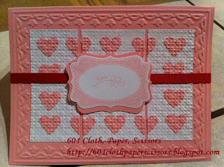 Four Frames card by Ida Chan, Stampin' Up! Vancouver