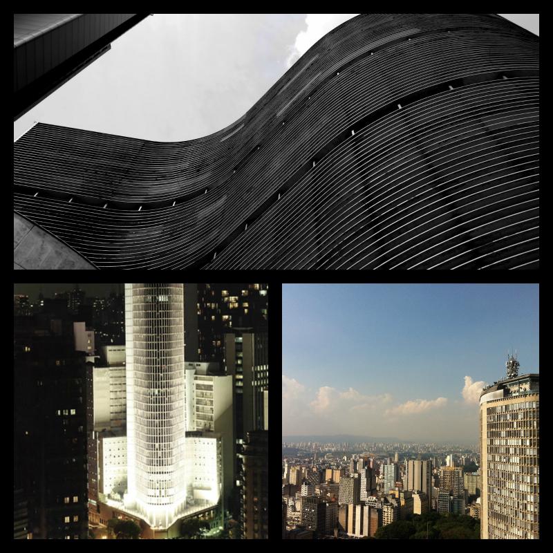Edifico Copán y Edificio Italia. Sao Paulo.