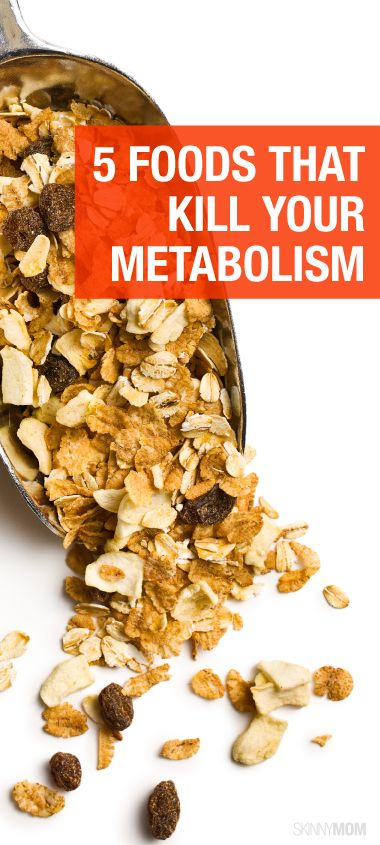 5 Foods That are Killing Your Metabolism