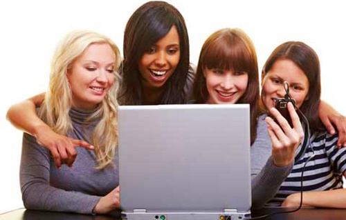 chicas en las redes sociales crea tu blog de belleza