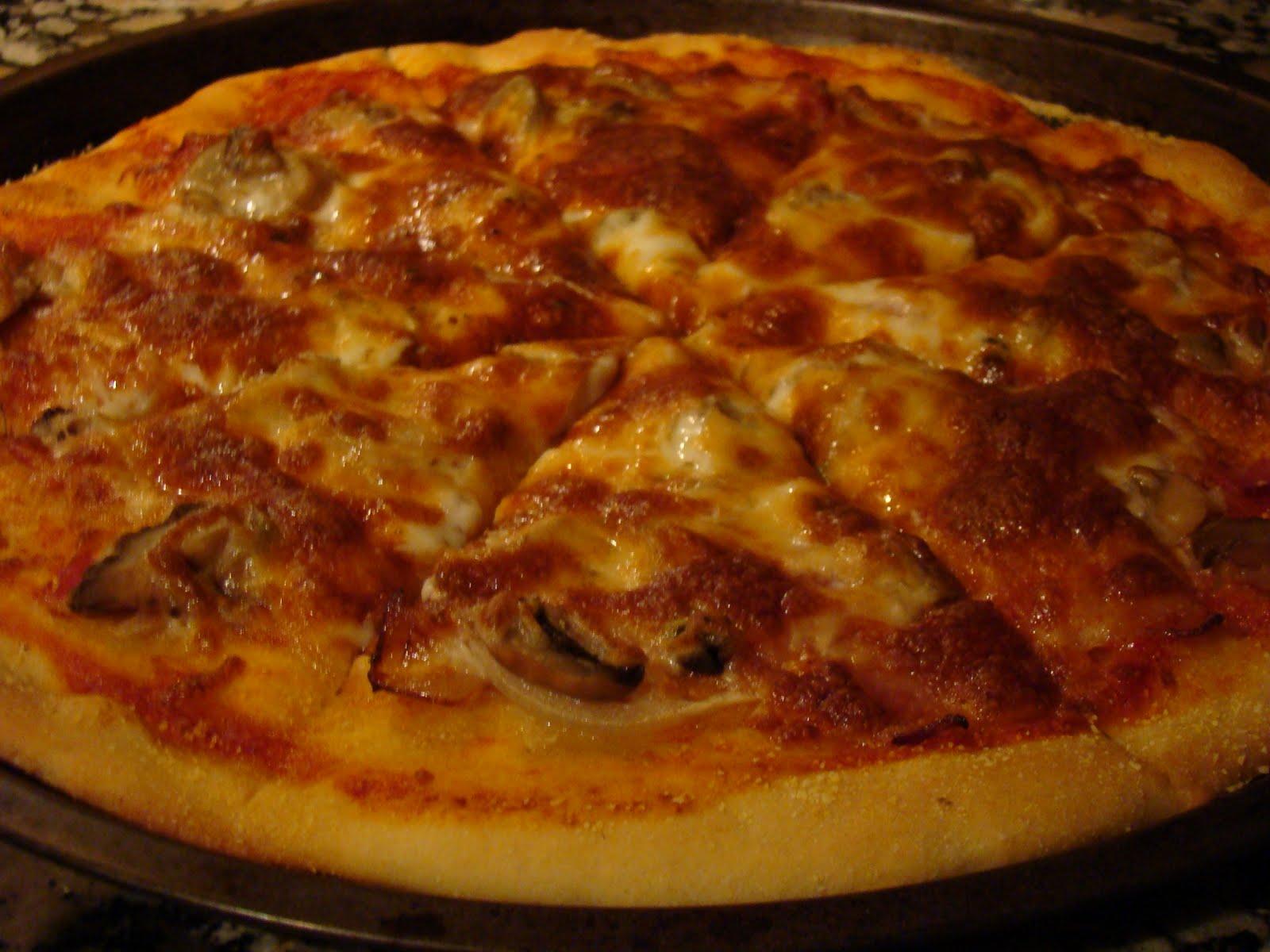 Mi receta de la semana: Pizza tipo telepizza, pizzamóvil, pizza hut ...