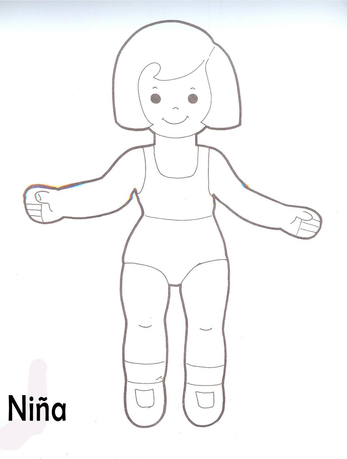 Contemporáneo Partes Del Cuerpo Niñas Con Diagrama Ilustración ...
