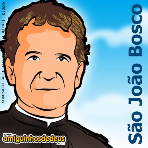 Dom Bosco desenho - São João Bosco