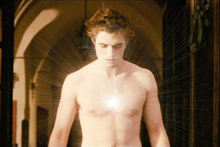 Edward Cullen - Brooding with angst and sparkle