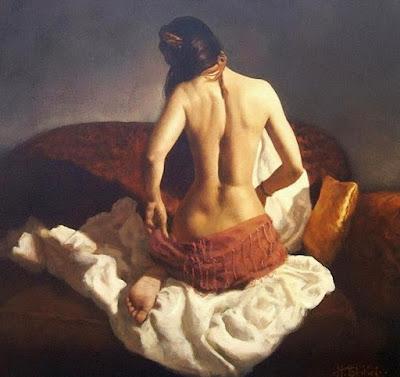 Desnudo De Espalda