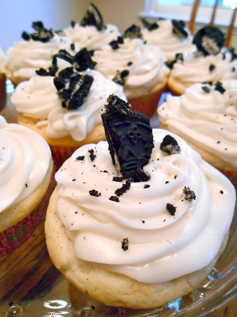 Cookies N Cream Cheese Cupcakes Flora Foodie