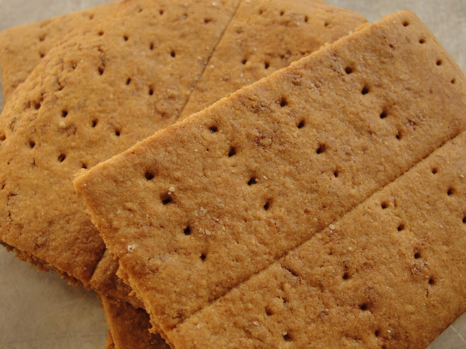 Big Life, Little Garden: Healthy Homemade Graham Crackers