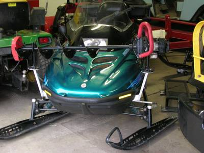 Snowmobile Auger Rack8