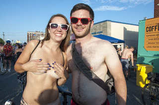 World Naked Bike Ride St. Louis, nude bike, nudist