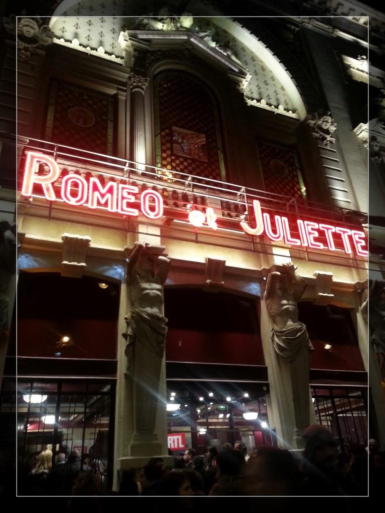 Romeo et juliette th tre de la porte saint martin cadeau inside la parisienne du nord - Theatre de la porte saint martin plan ...