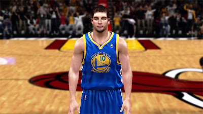 NBA 2K13 David Lee Cyberface NBA2K Patch