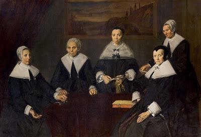Frans Hals -Les régentes de l'hospice de vieilards de Haarlem,1664.