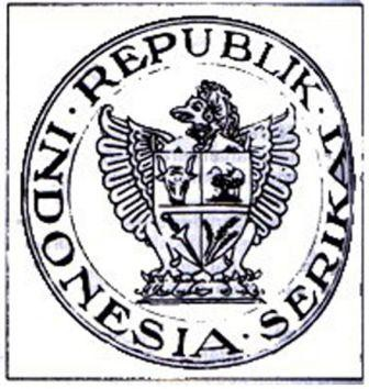 Lambang pertama republik indonesia