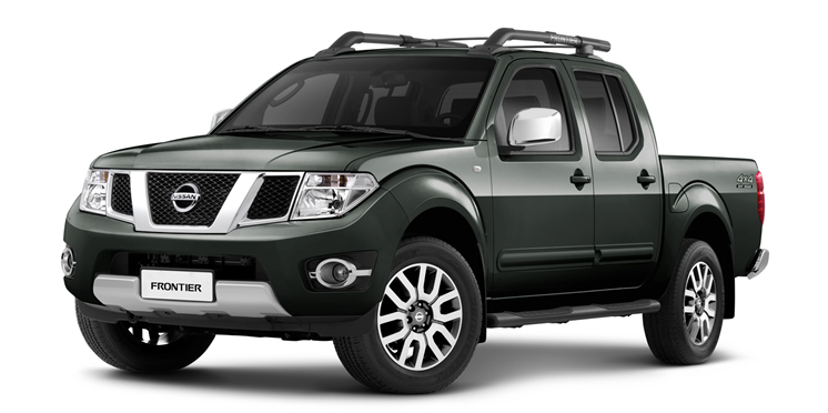 Nissan Frontier - Verde Army (Metálico)