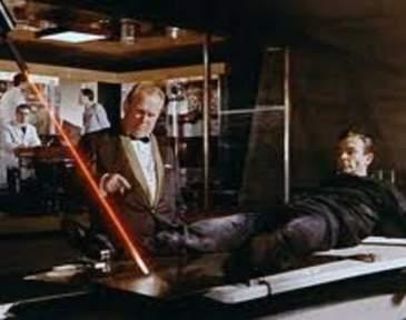 James Bond laser