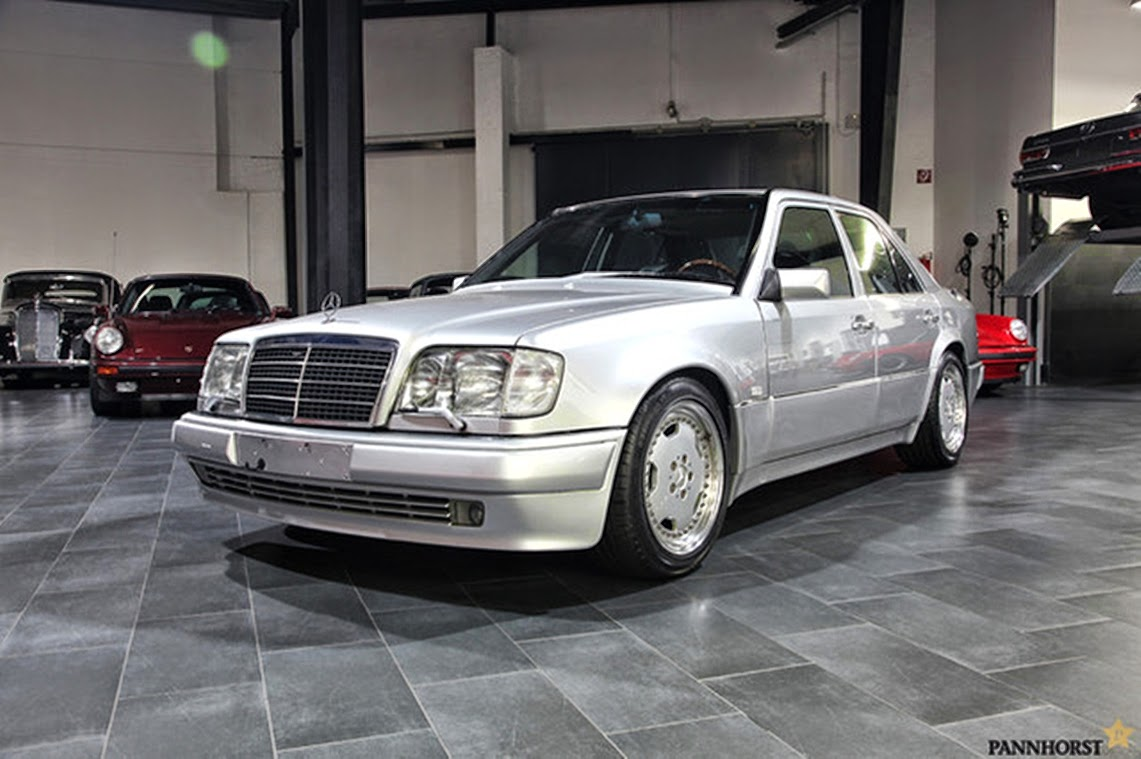 Mercedes benz w124 e60 amg silver benztuning for Mercedes benz w124 amg