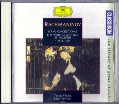 Rachmaninoff CD