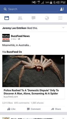 El miedo no existe en Australia