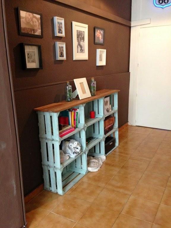Icono Interiorismo Ideas para decorar con cajas de fruta