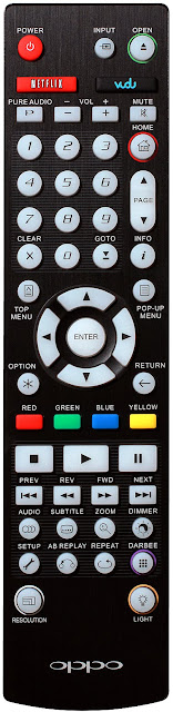 Télécommande OPPO BDP-103D