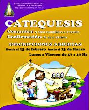 INSCRIPCIONES CATEQUESIS 2015