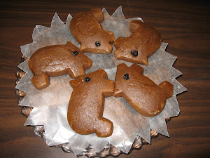 Ellen's ginger bread pigs