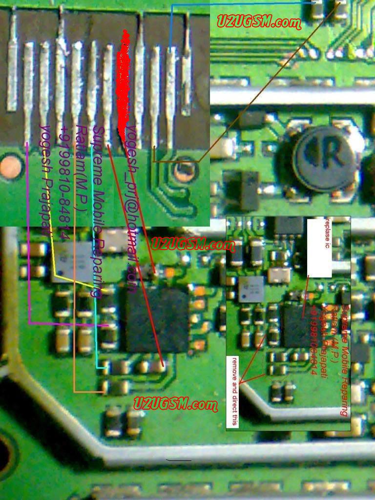 Nokia 1203 Display Problem Display Jumpers Display Solutions Display