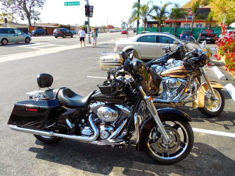 Paseo en Harley