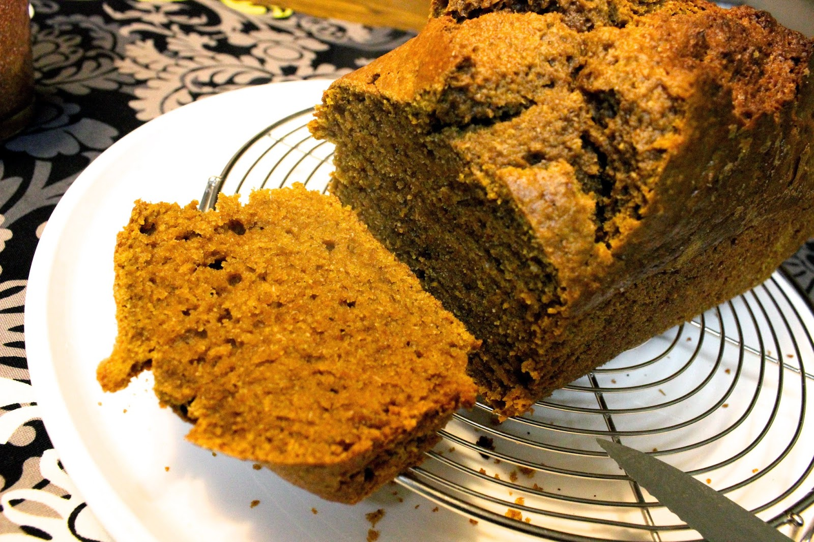 Healthy Homemade Pumpkin Bread Recipe