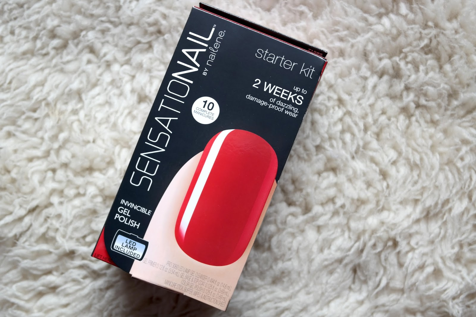 Sensationail starter kit review jenna suth the starter kit is described as being everything you need for 10 complete salon quality gel nail manicures that works out at 699 a manicure and a led solutioingenieria Images