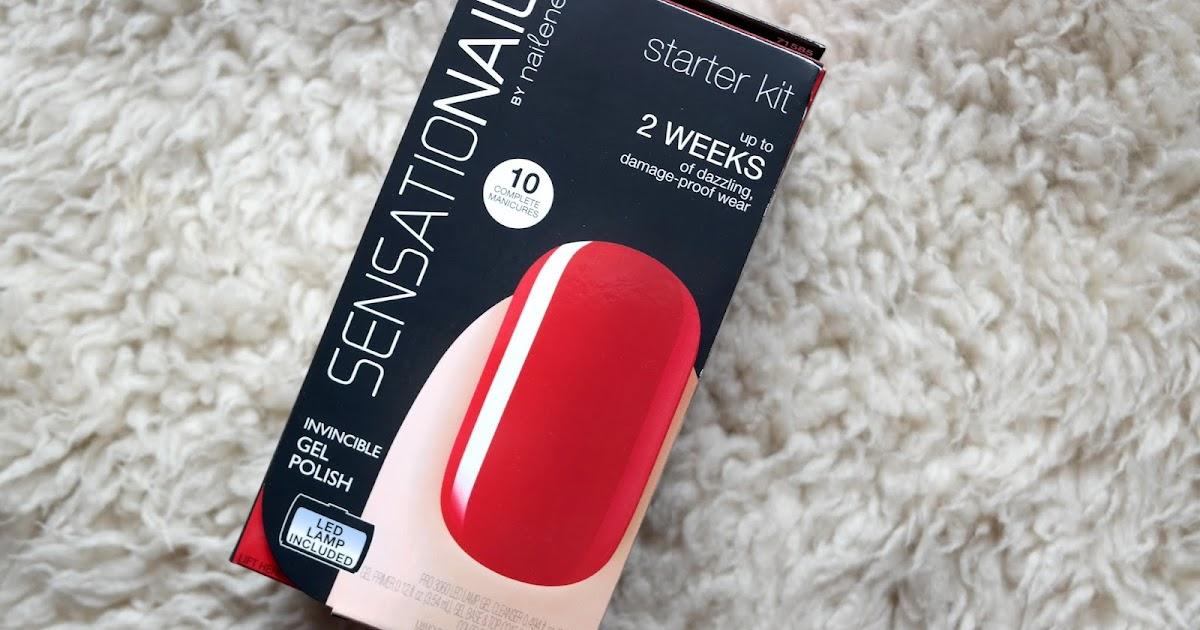 Sensationail Starter Kit Review Jenna Suth