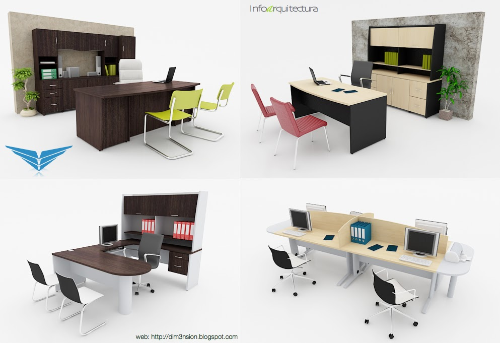 Infoarquitectura for Muebles 3d gratis