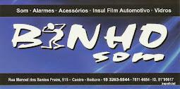 BINHO SOM Som, Alarmes, Acessórios Insul-Film Automotivo e Vidros