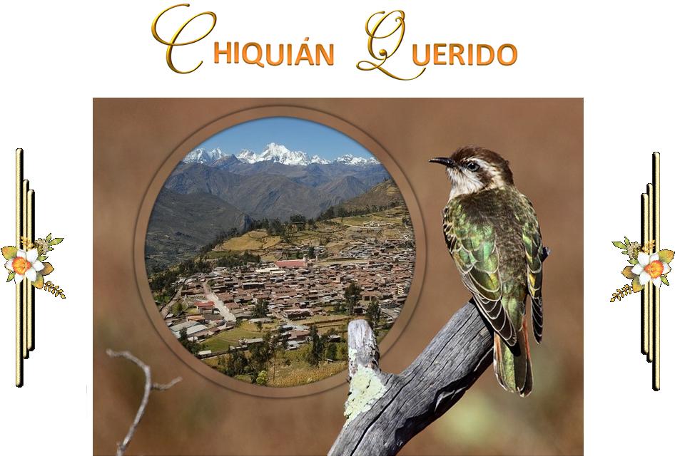 CHIQUIÁN QUERIDO / Armando Alvarado Balarezo (Nalo)