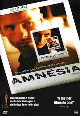 Filme Poster Amnésia DVDRip XviD & RMVB Dublado