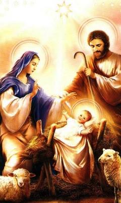 Božićne slike besplatne čestitke jaslice download free e-cards Christmas