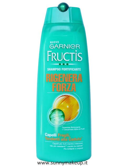 Garnier Fructis - Rigenera Forza. Shampoo.