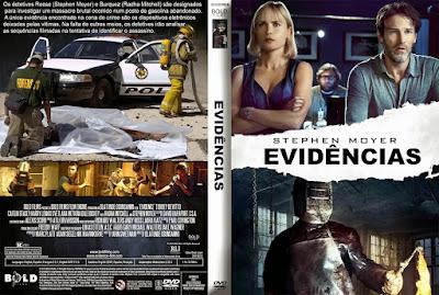 Filme Evidências DVD Capa