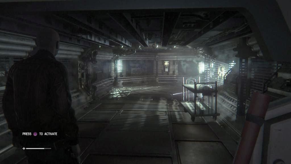 Alien Isolation environmental lighting