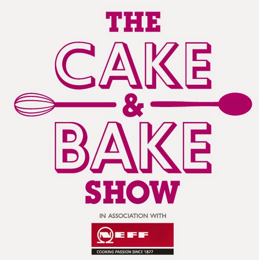Official blogger for The Cake & Bake Show